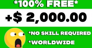 Make $2,000 PER DAY FROM NEW SITE (Make Money Online For Free) 4