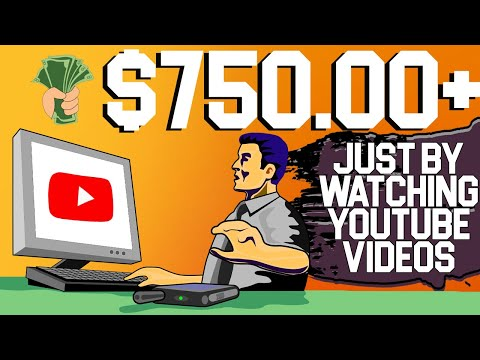 FREE $100/HOUR By Watching YouTube Videos (Make Money Online 2021) 1