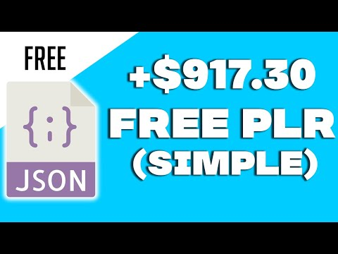 Get Paid $800.00+ FROM FREE PLR (NEW METHOD)   Make Money Online 6