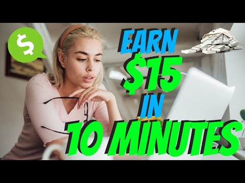 Earn $15 Every 10 Minutes | Make Money Online 2021 1