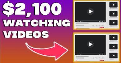 Make $2,100 Per WEEK WATCHING VIDEOS (Make Money Online 2021) 4