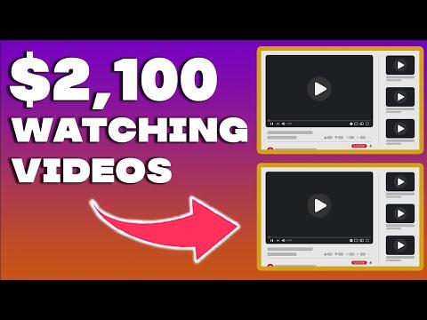 Make $2,100 Per WEEK WATCHING VIDEOS (Make Money Online 2021) 8