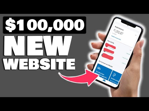 NEW Website That Pays $100,000 Paypal Money (Easy Make Money Online) 10