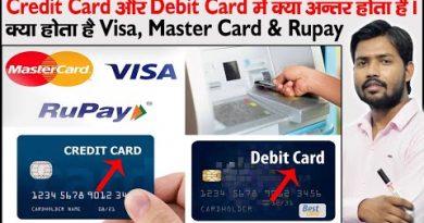 ATM Card | Plastic Money | Credit Card | Debit Card | VISA | RUPAY | MASTER Card | Card Network 4