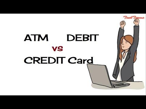 Quick - ATM Card vs DEBIT Card vs CREDIT Card | TechTerms 5