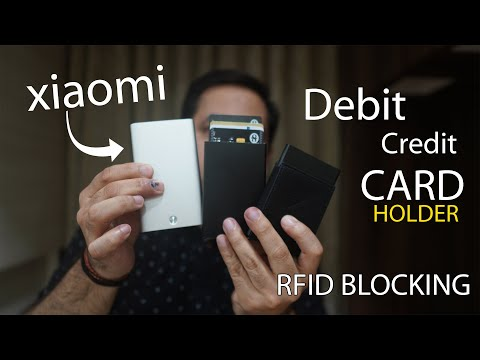 Xiaomi Credit Debit Card Holder, other Card holder with RFID blocking from Rs. 250 onwards 7