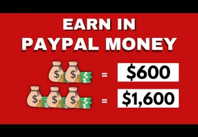 Make $600 in PayPal Money Quickly Today (Make Money Online 2021)