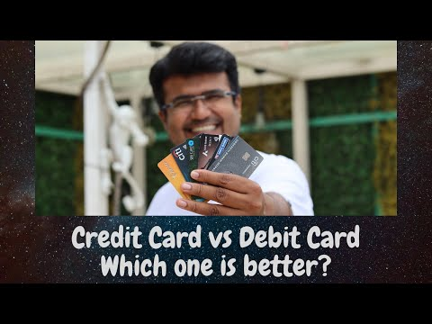 Credit Card vs Debit Card - Which one to Choose??? | Is Credit Card better than Debit Card?? 2