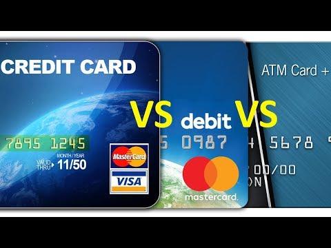 Credit Card vs. Debit Card vs. ATM card - Comparison 5