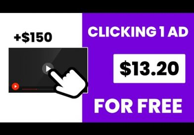 Make $13.20 Every 5 Min Clicking On Ads (FREE) | Make Money Online