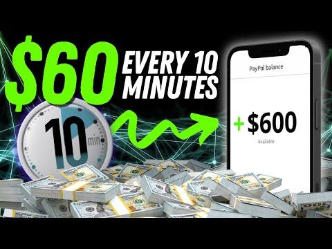 Get Paid $60 Every 10 Mins | Make Money Online 2021 4