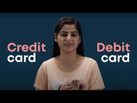 Credit card vs Debit card – Advantages and disadvantages