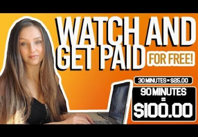 Earn $40/Hour by Watching Ads (Make Money Online 2021)